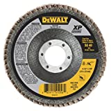 DEWALT DWA8280 40G T29 Xp Ceramic Flap Disc, 4-1/2'' X 7/8''
