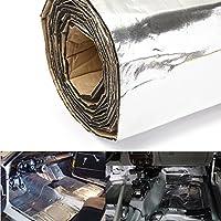 HITSAN iMars 300x100cm Firewall Sound Deadener Car Heat Shield Insulation Deadening Material Mat One Piece