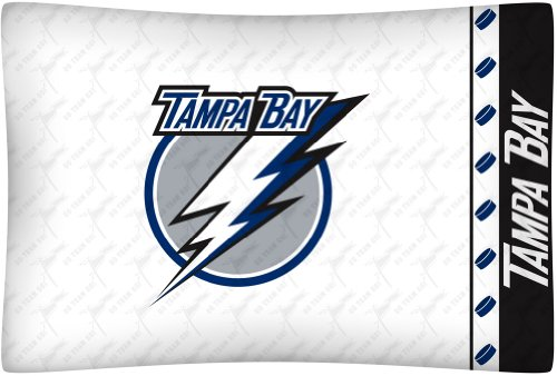 Sports Coverage NHL Tampa Bay Lightning Micro Fiber Pillow Case Logo