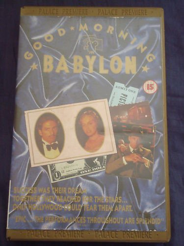 Good Morning, Babylon [VHS] -  VHS Tape, Rated PG-13, Paolo Taviani