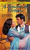img - for A Season Of Virtues (Zebra Regency Romance) book / textbook / text book