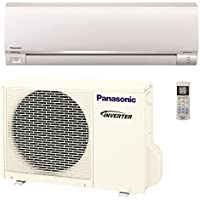Panasonic Exterios E 12,000 BTU Ductless Mini Split Air Conditioning and Heating System, Indoor and Outdoor Set with Wireless Remote  (208/230V)