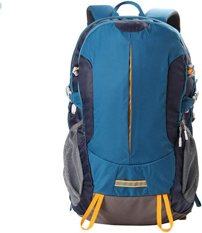 Blue Lake Color : Iron ore Blue Chenjinxiang01 Backpack for Man,Outdoor Hiking Trip 30 Liter Backpack