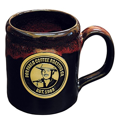 Cafe Don Pablo Collectible 12oz Stoneware Coffee Mug - Handmade in the U.S.A