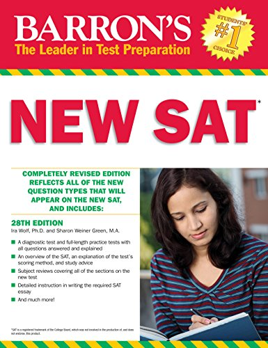 Barron's NEW SAT, 28th Edition (Barron's Sat)