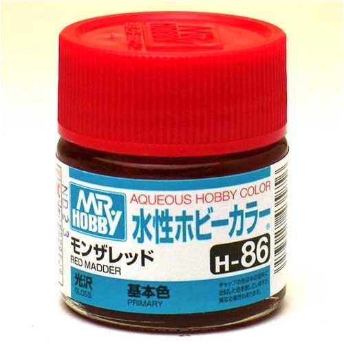 水性ホビーカラー H86 モンザレッド