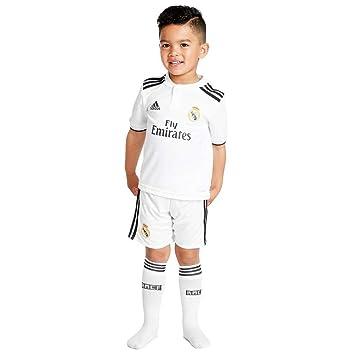 adidas Real H Mini Conjunto Equipación, Bebé-Niños: Amazon.es: Deportes y aire libre