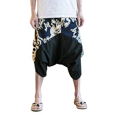 Lannister Fashion Pantalones Sarouel Pantalones Harem ...