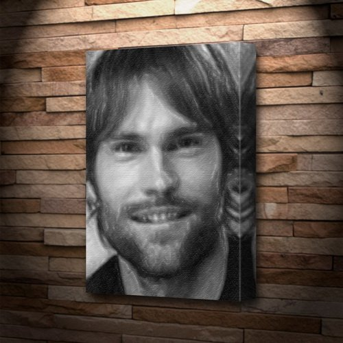 SEANN WILLIAM SCOTT - Canvas Print (LARGE A3 - Signed by the Artist) #js001