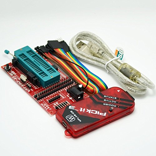 pickit3 Programming / emulator + PIC microcontroller / minimum system board / development board / universal programmer seat