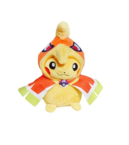 df809b4b Image Unavailable. Image not available for. Color: Pokemon: 7-inch Mascot  Pikachu Plush Doll - Ho-oh