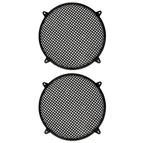 "Goldwood Sound, Inc. Monitor Speaker And Subwoofer Part, Steel Waffle Woofer Grills with Hardware for 15"" 2 Grill Set (SWG-15C-2)"