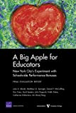 A Big Apple for Educators, Julie A. Marsh and Matthew G. Springer, 0833052519