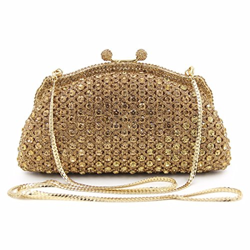 Crystal Maollmm Diamonds Clutches Bags Party Purse Luxury Clutch Wedding Women Evening Bag New Leather HUwHYr8