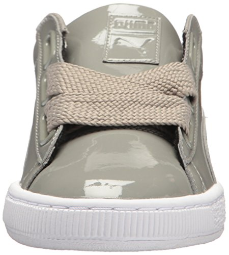Ridge Patent Wn Ridge Women's Sneaker Basket Heart Puma Rock rock TRHBw