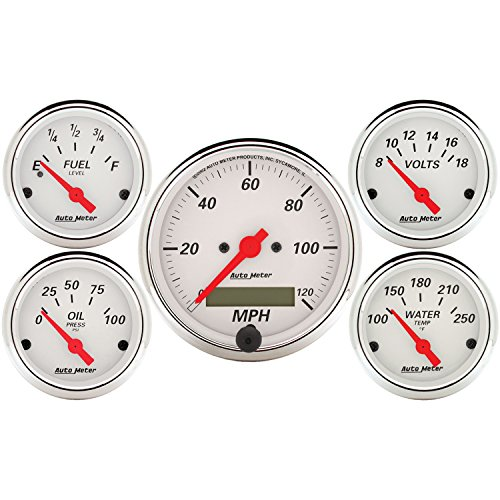 Auto Meter 1302 Arctic White Street Rod Kit (Chrysler Street Rods For Sale compare prices)