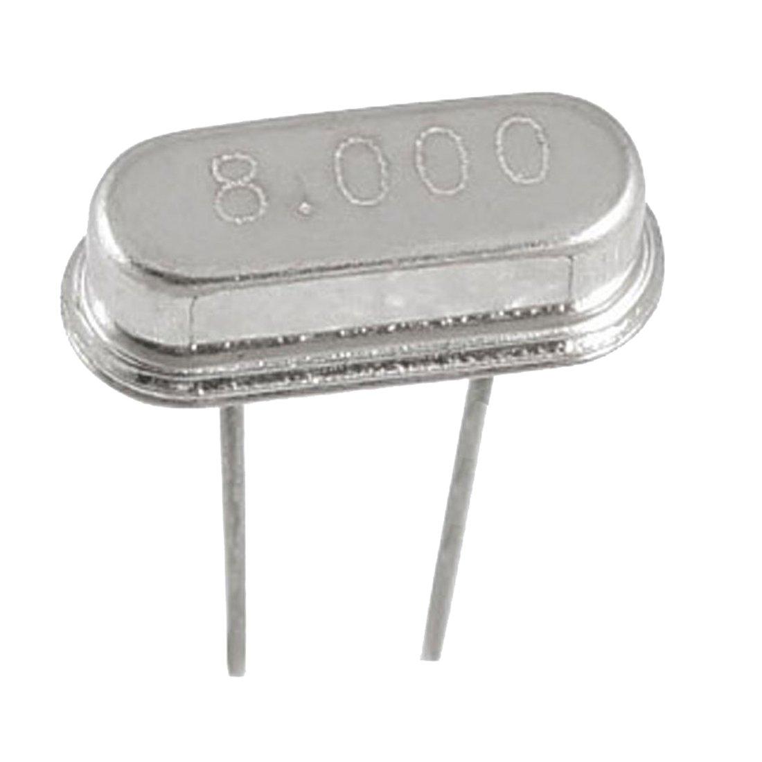 Crystal Oscillator - SODIAL(R) 5 x 8.000 MHz 8 MHz Crystal HC-49S DIP Mounting Crystal Oscillator