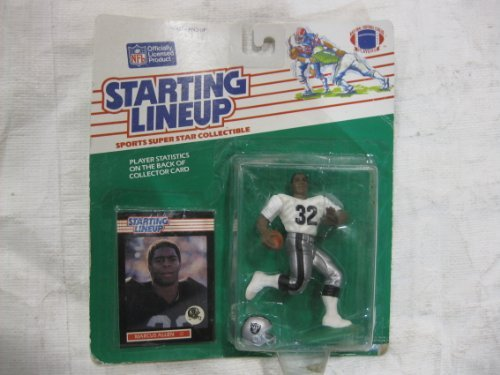 Starting Lineup 1989 Edition NFL #32 Marcus Allen Oakland Raider ()