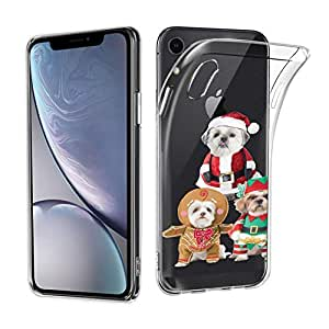 Amazon.com: Christmas Costume Dog Case for iPhone Xr Slim