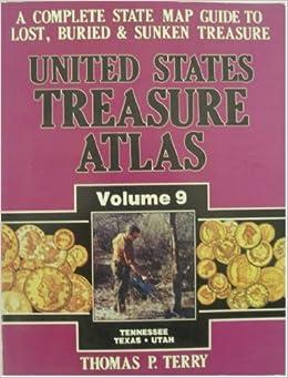Amazoncom United States Treasure Atlas Vol TennesseeTexas - Us map of food volume