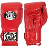 Cleto Reyes Hook & Loop Training Gloves-Red-16oz.