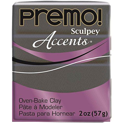 (Sculpey Premo Graphite Pearl Accent Clay)