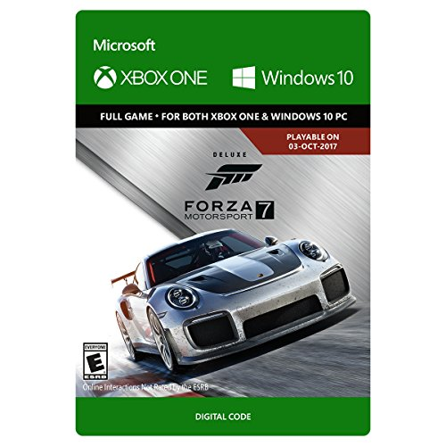 Forza Motorsport 7: Deluxe Edition - One/Windows 10 Digital Code by Microsoft Game Studios