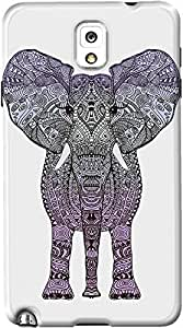 DailyObjects Creacover Elephant Case For Samsung Galaxy Note 3 (Back Cover) Multicolored