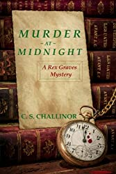 Murder at Midnight [LARGE PRINT]: A British New Year's Eve Cozy Mystery: A Rex Graves Mystery (Volume 6)