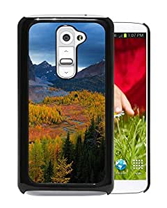 New Beautiful Custom Designed Cover Case For LG G2 With Mountains Nature Sky Trees View Landscape Phone Case