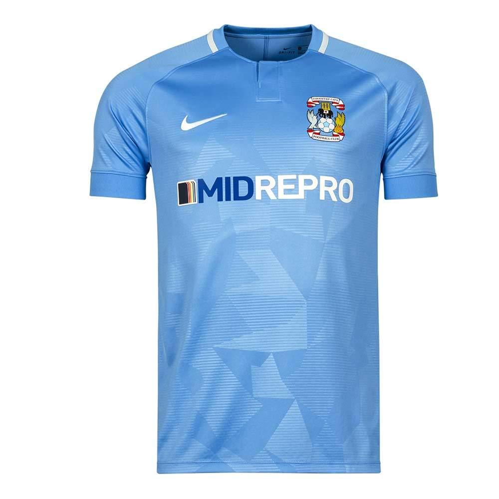 Nike 2018-2019 Coventry City Home Football Soccer T-Shirt Trikot