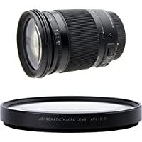 Sigma 18-300mm F3.5-6.3 DC Macro OS HSM ( C ) for Canon EF Cameras w/ Sigma AML72-01 Close-Up Lens