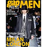 gap PRESS MEN 2018年Vol.52 小さい表紙画像