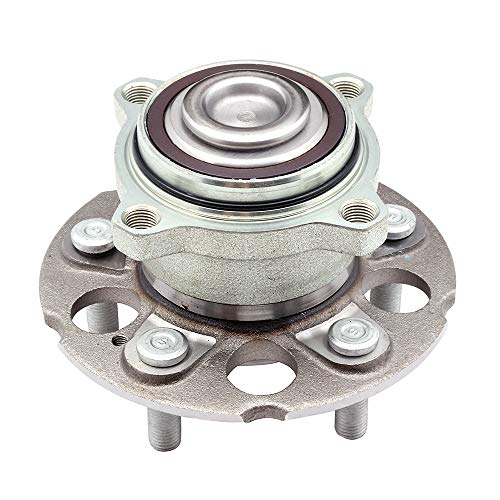 ECCPP Replacement for Wheel Bearing and Hub Assembly for Honda Professional Grade Wheel Hub Bearing 5 Lugs W/ABS (512344x1)