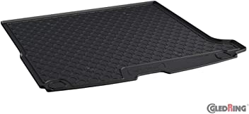 Gledring GLED-BL-1905 Custom Tailored Fit Black All Weather Rubber Boot Liner Tray Mat