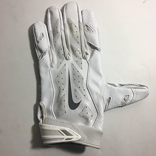 - 2016 Season LEFT HAND ONLY Brice Butler #19 Game Used HOF 2017 supporting Jerry Jones inscription Nike Vapor Jet Football Glove Dallas Cowboys XL Oakland Raiders