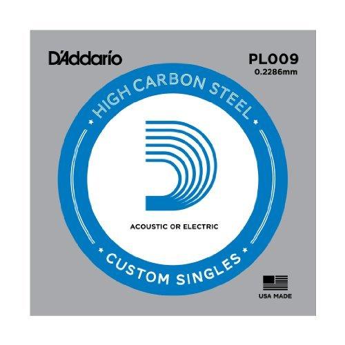 Amazon.com: CUERDAS GUITARRA ELECTRICA - D´addario /PL009/Plana (5 ...