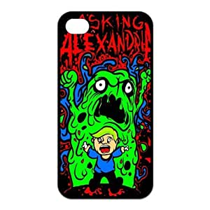 iPhone 5c Case, Asking Alexandria Hard TPU Rubber Snap-on Case for iPhone 5c