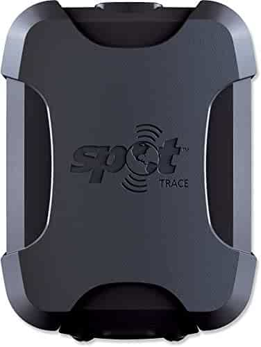SPOT Trace Anti-Theft Tracking Device Black One Size