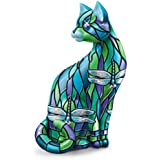 """The """"Dragonfly"""" 4"""" Tall Cat Figurine by The Hamilton Collection"""