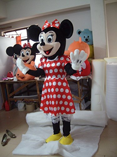 Minnie Mouse Mascot Cartoon Character Adult & Amazon.com: Minnie Mouse Mascot Cartoon Character Adult: Toys u0026 Games