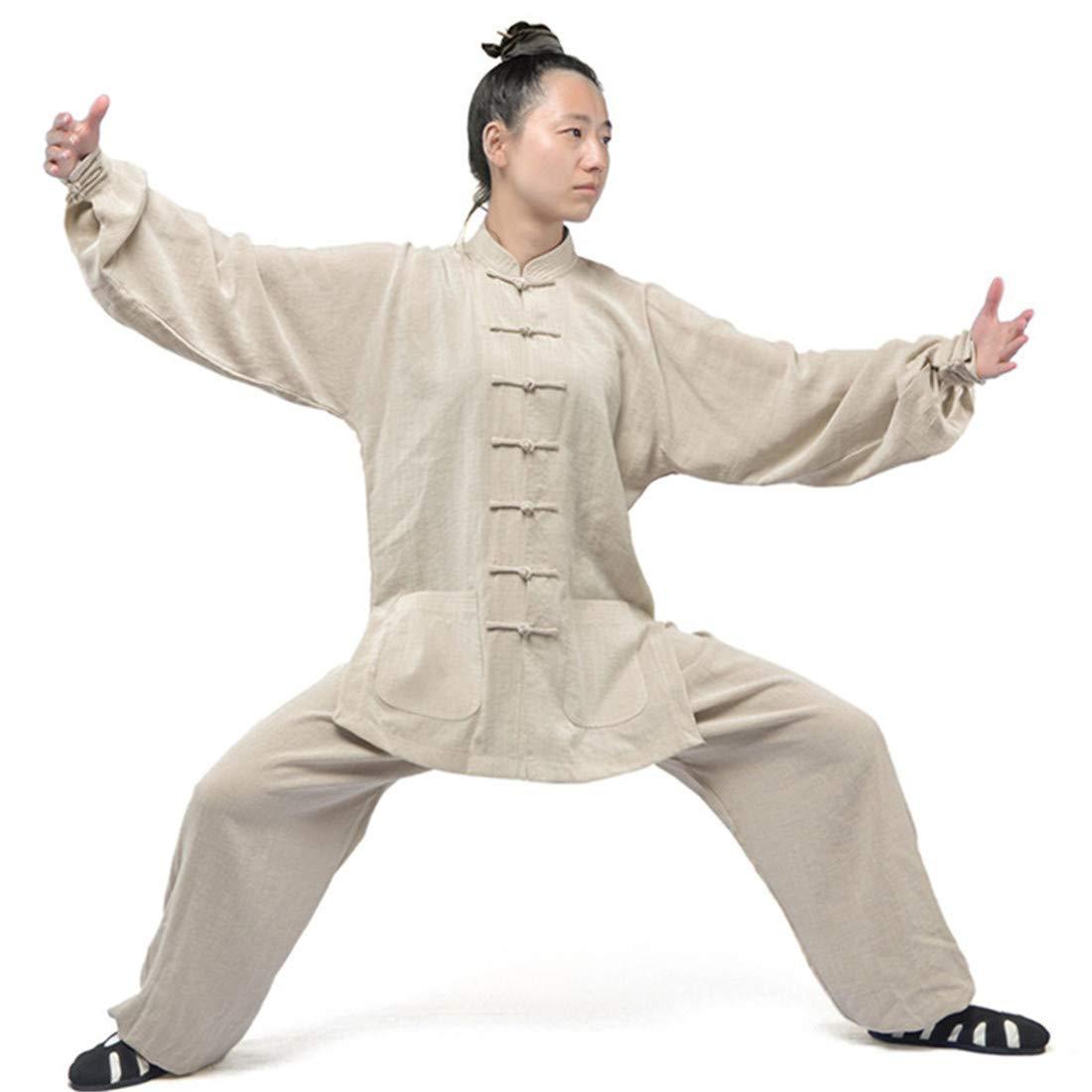 CAI&HONG-Domestics GUO Abbigliamento per Arti Marziali Abbigliamento da Allenamento per Abbigliamento Taiji