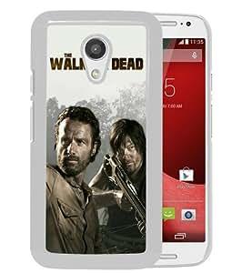 Popular Custom Designed Case For Motorola Moto G 2nd Generation With The Walking Dead 25 White Phone Case