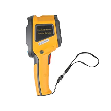 Elenxs 3600 píxeles por infrarrojos portátiles cámara termográfica IR Cámara de imagen térmica visual digital LCD