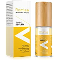 ROMISA 20% Naturals Vitamin C Facial Serum 1.4 Fl Oz (40 ML)