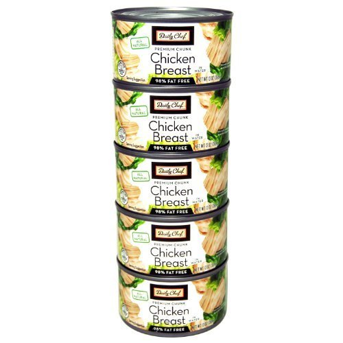 Daily Chef All Natural Chicken Breast - 13 oz. cans - 5 pk. by Daily Chef [Foods] by Daily Chef