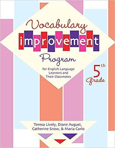 Amazon.com: Vocabulary Improvement Program for English ...