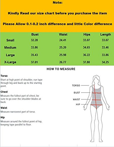 Fashionbabies - Traje de una pieza - para mujer verde verde Medium