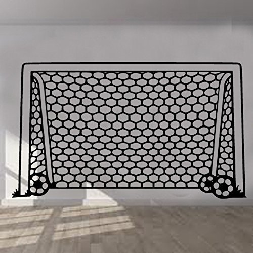 Football Goal Net Wall Sticker Art Kids Room Boys Girls Decor BR46 (60cm x 103cm) by Kult Kanvas