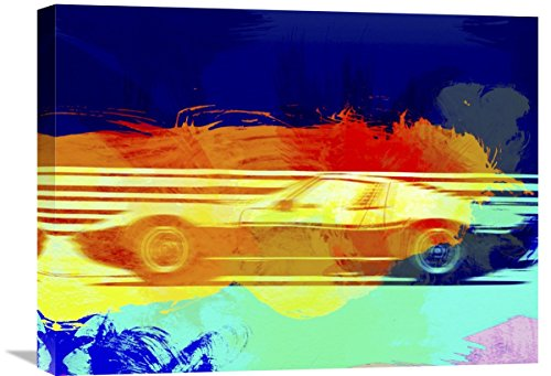 "Naxart Studio ""Lamborghini Miura Side 1"" Giclee on Canvas, 24"" by 1.5"" by 18"" from Naxart Studio"